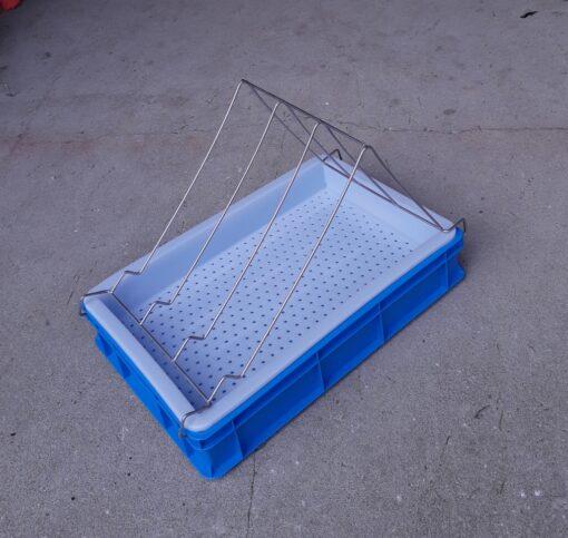 Kaanetusalus h100mm plastikust sisuga