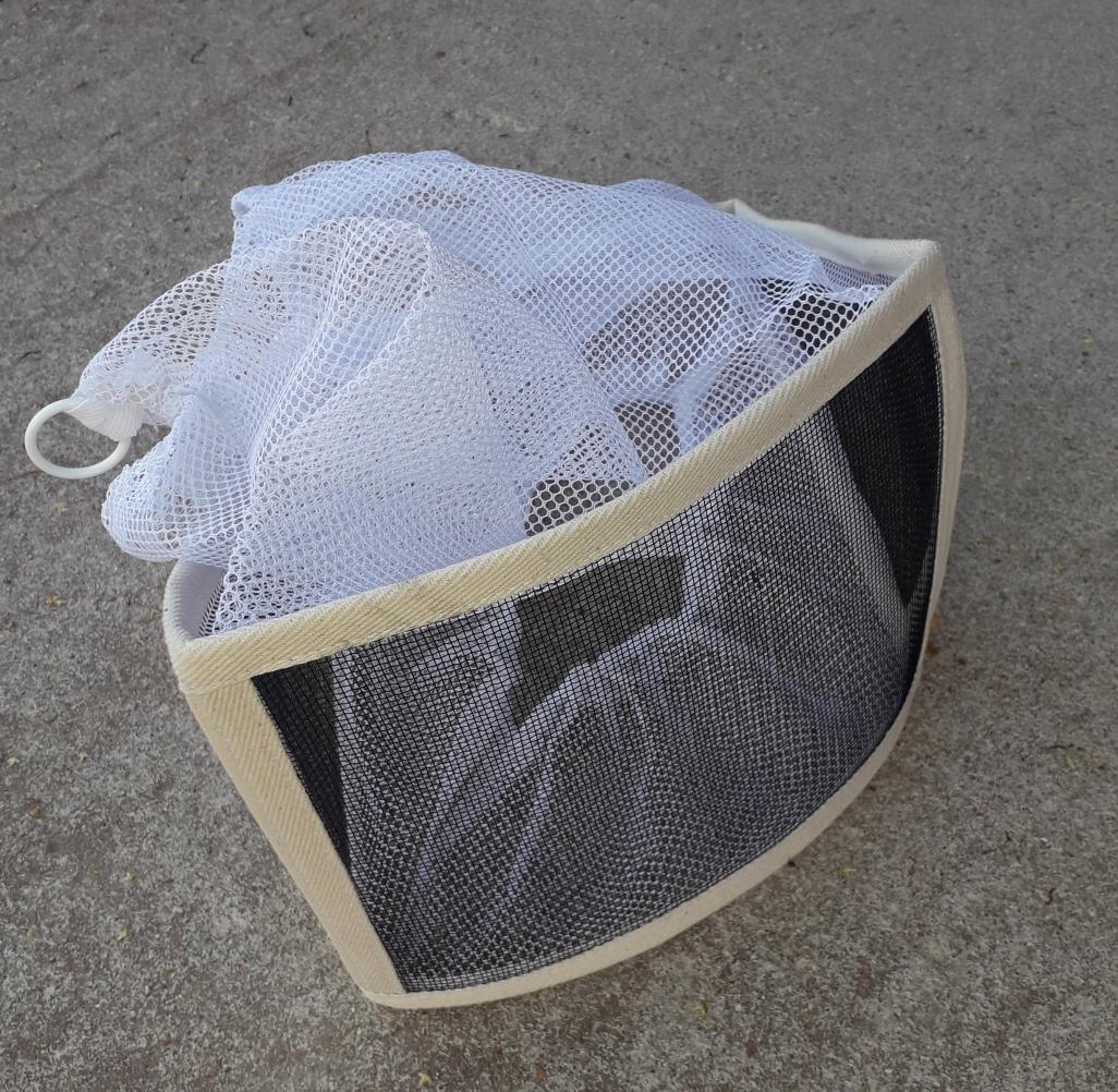 Kübara kate metallvõrguga kandiline