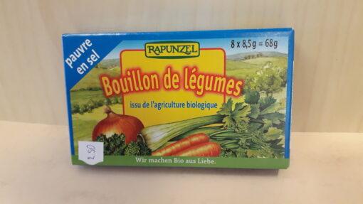 Vähese soolaga aedviljapuljongikuubikud 8*8,5g
