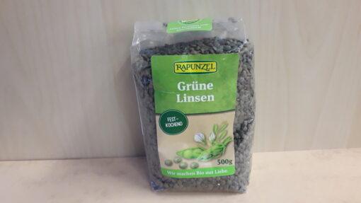 Rohelised läätsed 500g