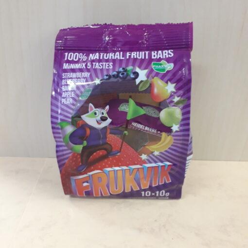 Minimix Frukvik puuviljabatoonid 5 maitset 10*10g