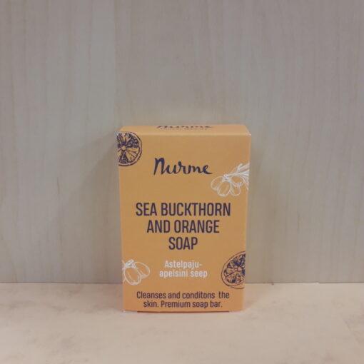 Astelpaju-apelsini seep 100g