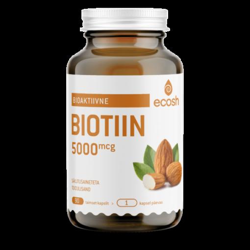 BIOTIIN 5000 μg- iluvitamiin