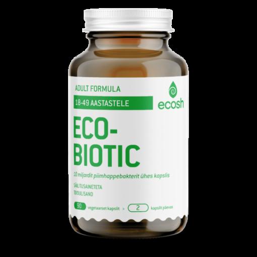 ECOBIOTIC – Adult Probiootikumid 90kapslit