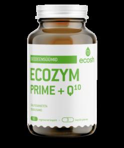 ECOZYM PRIME +Q10– Seedeensüümid 90kapslit